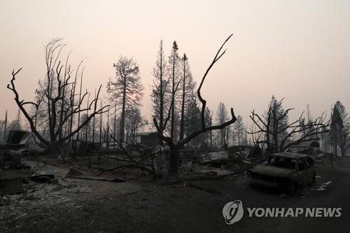 美 산불 피해지역에 큰 비 예보…불 꺼져도 산사태 걱정