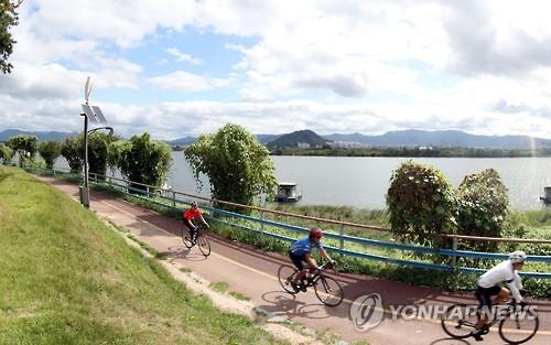춘천시 자전거 타기 좋은 도시 만든다