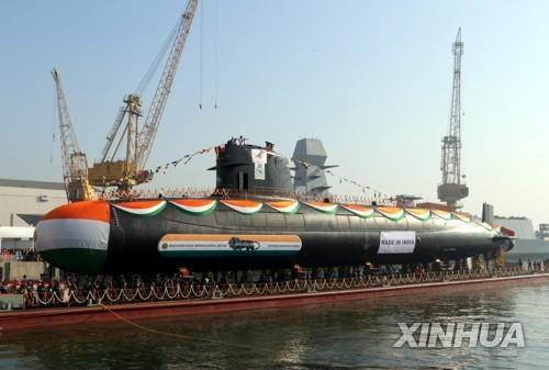 인도, 전함 56척·잠수함 6척 도입 추진…인도양서 中 견제