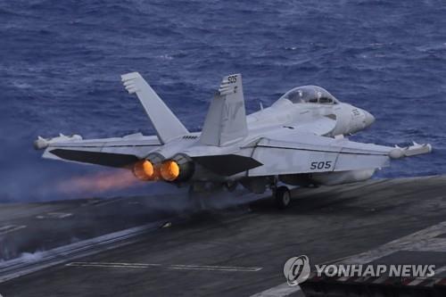 日연안 상공서 美해병대 전투기-급유기 충돌해 추락(종합)