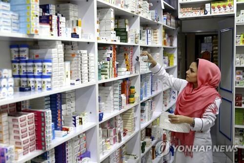 유럽→이란 의약품 수출 감소…제재 예외지만 이란에 타격