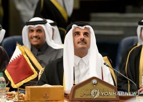카타르, 사우디 국왕이 보낸 GCC정상회의 초청장 거절