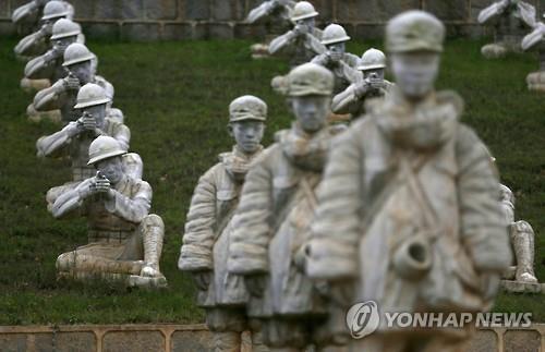 """中언론 """"10월 산둥성서 퇴역군인 폭력시위…10명 형사조치"""""""