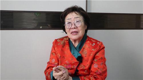 """[KOREA NOW] 日 보상금 거절한 이용수 할머니 """"내가 왜 위안부입.."""