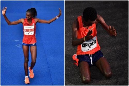 '마라톤은 역시 케냐' 싱가포르대회 1∼17위 싹쓸이