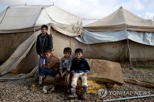 """""""이라크, IS소탕 1년 지났지만 아동 250만명 학교 못 가"""""""