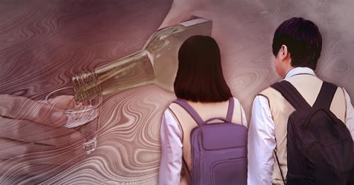 청소년 알코올중독 작년 2천명 육박…7년간 2.1배 ↑