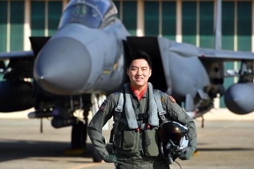 올해의 '탑건' F-15K 조종사 이재수 소령…1천점 만점
