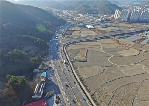 창원 내서∼함안 칠원 국도 5호선 확장구간 14일 개통
