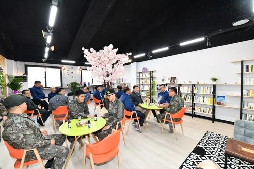 현대차 울산공장, 1천400만원 지원해 군부대 도서관 개선