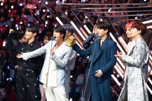 방탄소년단, '2018 MAMA' 3년 연속 대상…4관왕 영예