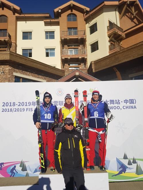 정동현, 중국 극동컵 스키대회서 사흘 연속 우승
