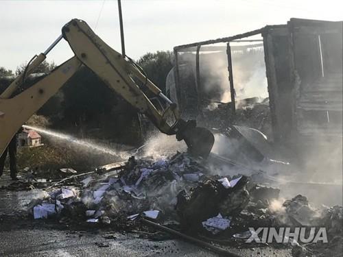 그리스서 또 난민 비극…밀입국 차량 전복돼 3명 사망