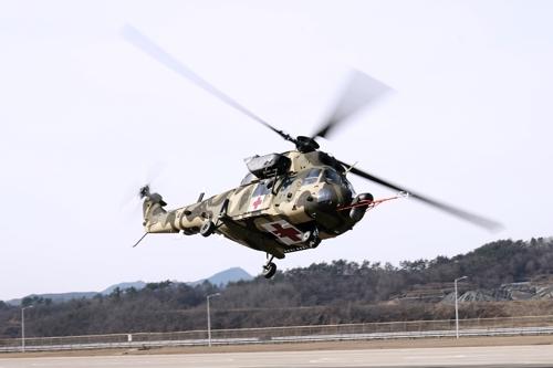 국산 의무후송전용헬기 첫 도입…KAI, 2천억원 공급계약(종합)