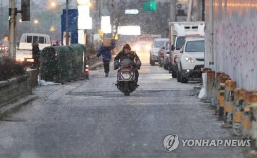 대구·경북 눈 그치며 도로 통제 풀려(종합)