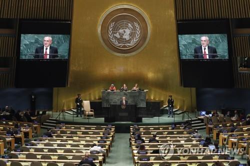 유엔총회, 내일 새벽 北인권결의안 14년연속 채택시도