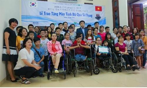 [게시판] KOICA, 베트남 소외계층에 컴퓨터 기증