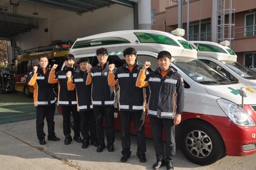 """""""생명에 국적 없다""""…몽골인 살린 대전 구급대원들"""