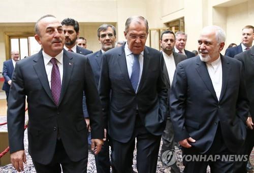 러·터키·이란, 내년 초 '시리아 헌법위원회 구성' 합의