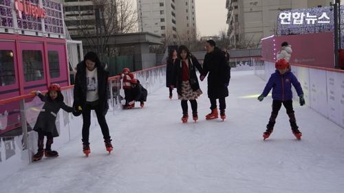 [VR] 한강 보이는 63빌딩에서 '무료 스케이트' 즐겨요