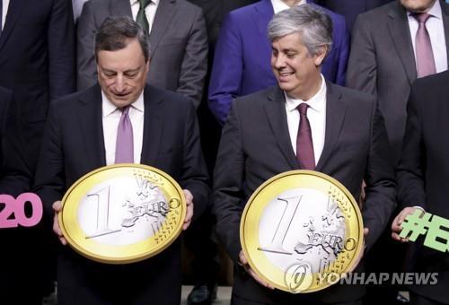 내년 1월1일 유로화 20주년…전 세계서 달러 이어 두번째로 통용