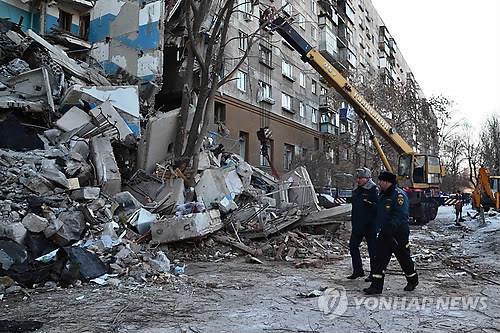 러 아파트 붕괴 사망자 39명으로 늘어…수색작업 종료(종합2보)