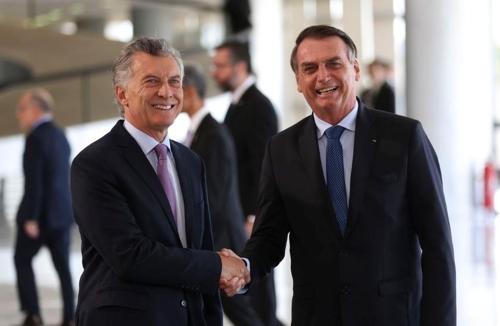 브라질-아르헨티나 정상회담…'메르코수르 현대화' 공감대