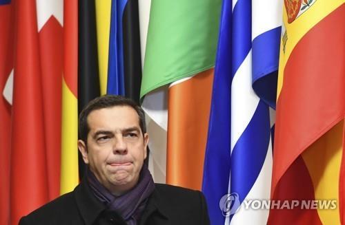 치프라스 그리스 총리, 내각 불신임 투표서 승리(종합)