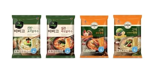 "CJ제일제당 ""냉동면, 3개월간 40억원 매출"""