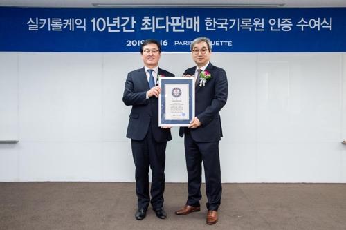 파리바게뜨 '실키롤케익', 롤케이크 10년 최다판매 공식인증