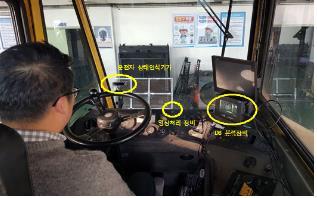 부산항 야드 트랙터 졸음운전 사고 없앤다…예방장치 도입