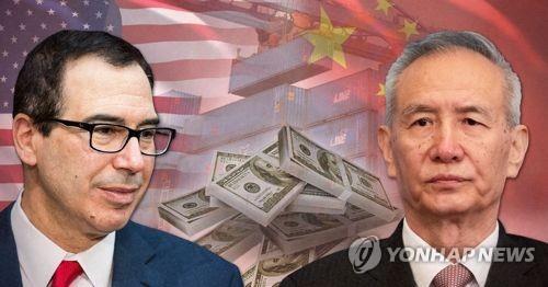 美中 30∼31일 미국서 고위급 무역협상…中류허 방미(종합)