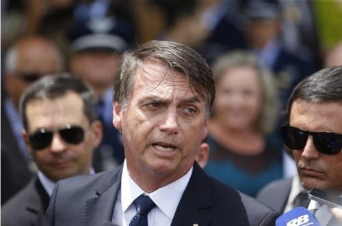 브라질 보우소나루, 다보스서 '신속한 개혁' 약속할 듯