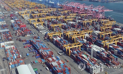 지난해 경남 수출 32.3%↓…선박·해양구조물 급감 영향