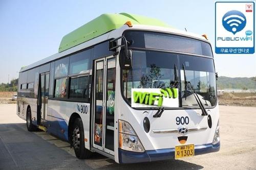 연말까지 세종 모든 버스에 와이파이…78대는 설치 완료