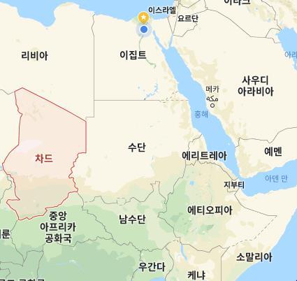 """""""아프리카 수단, 이스라엘 비행기 남수단 통과 첫 허용"""""""