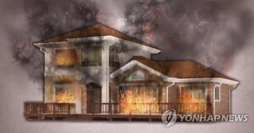 청주 폐가서 화재…1명 사망·2명 부상