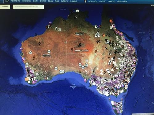동물보호단체 온라인 농장 지도 놓고 호주서 논란 가열