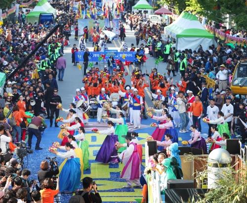 광주 동구 충장축제, 4년 연속 대한민국축제콘텐츠대상