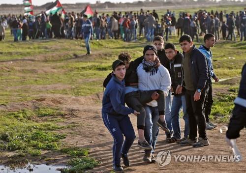 팔레스타인 14세 소년, 시위하다 이스라엘군에 피살