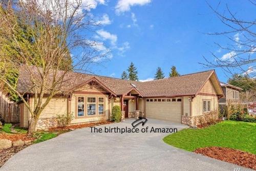 베이조스가 아마존 창업한 시애틀 주택, 16억원대 매물로 나와