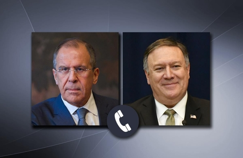 미러 외교수장 통화…INF탈퇴·대러 제재·베네수엘라 사태 충돌(종합)