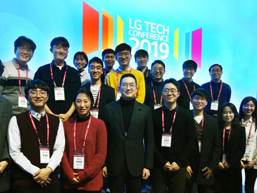 """LG 구광모 """"R&D 인재들 미래기술 선도하도록 최고의 환경 조성"""""""