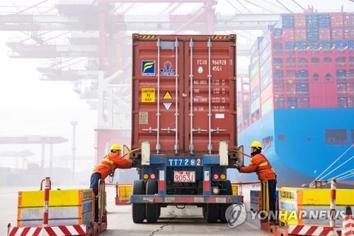 중국 1월 수출 9.1% 증가…예상 깨고 플러스 반전