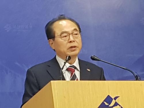 """오거돈 """"북한개발은행 부산설립·스마트시티 협력 정부에 제안"""""""
