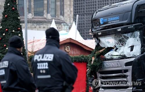 """伊, 베를린 트럭테러범 친구 강제 추방…""""국가안보 위협"""""""