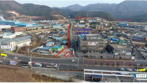 부산∼양산 용당교차로 국도 7호선 4월 말 조기 개통