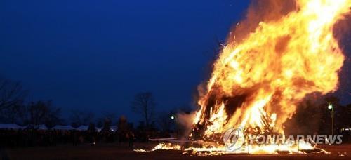 '산불 나면 안돼요'…충북도 정월 대보름 산불방지 총력