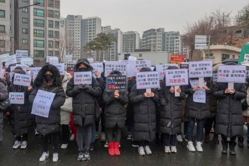 """갈라진 사립유치원…'에듀파인' 반대시위 vs """"사용법 배울래"""""""