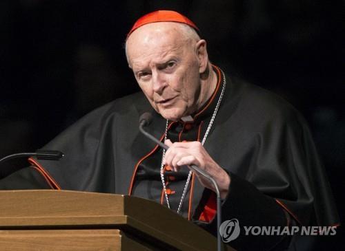 교황청, 성 추문 의혹 미국 전 추기경 사제직 박탈(종합)